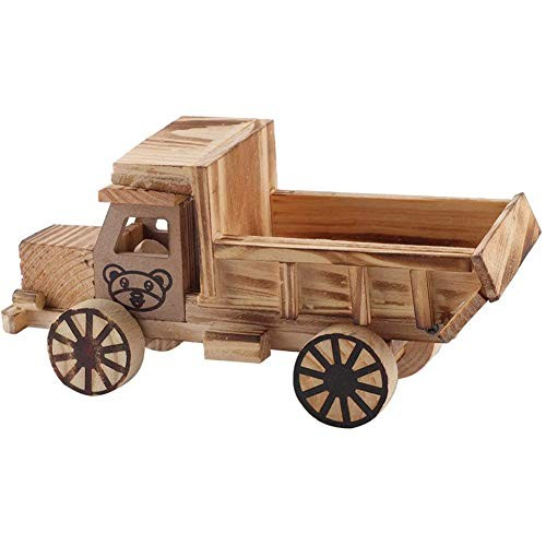 Sq Log Truck Model Children Desktop Log Truck Model car Engineering Vehicles Children's Toys