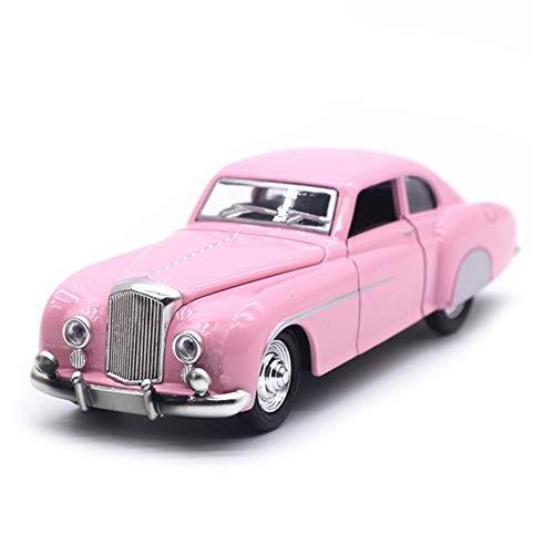 1/28 Diecast Vintage Action Figure ToyPull Back Car Model with Sound LED Kids Toy