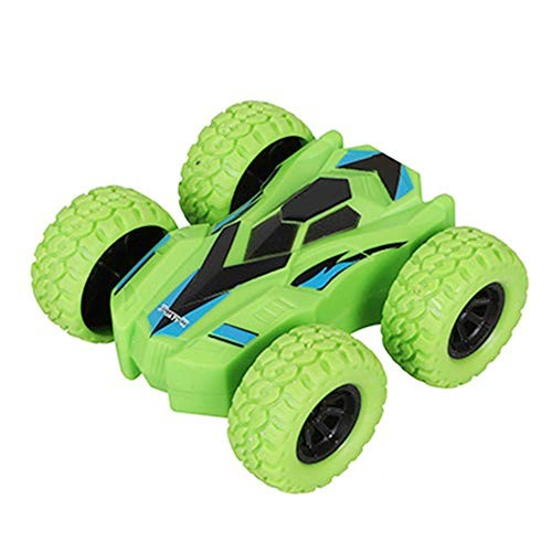 1x Double Sided Inertial Sliding Stunt Car Toy Rotation Kids Child Gift
