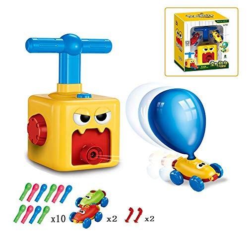 Generis Inertial Power Balloon Car for KidsInflatable Balloon Power Car ToyChildren's DIY Science Experiment