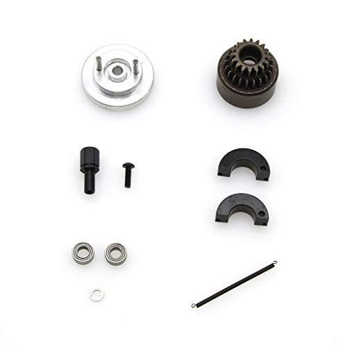 EAPTS 1Set Complete RC 16T 21T Clutch Bell Shoes Bearings Gear Flywheel Assembly Kit