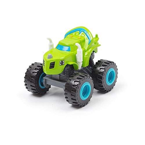 Friction Powered Cars 1pcs Blaze Cars Toys Russian Crusher Vehicles Figure Blaze Toy Blaze