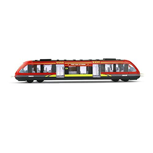 Friction Powered Cars Alloy Metal High Speed Rail Diecast Train Toy Model Educational Toys