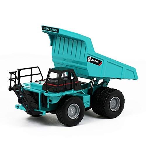 SCCCvip 1:60 Truck Model Car Alloy Mine Dump Truck Model The Front Wheel Can