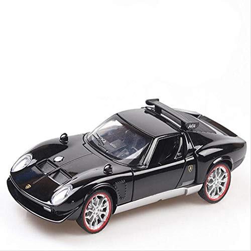 Children's Toys 1/32 Ratio Simulation Rambo Miura Super Sports Car Model Metal Diecasting Toy
