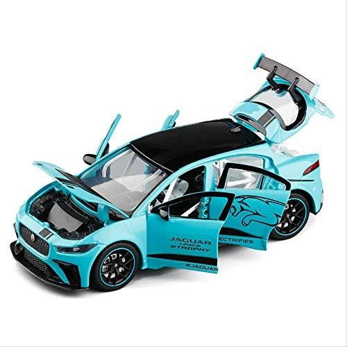1/32 Jaguar I PACE Pure Electric Sports car six-Door Sound and Light Return Metal