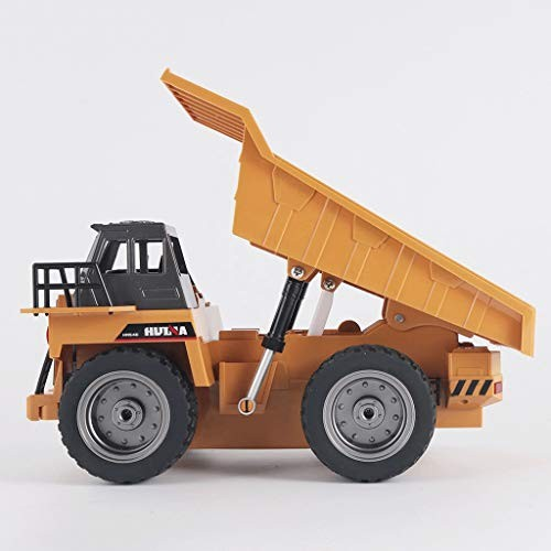 Remote Control Car1:18 Alloy Remote Control Dump Truck Transport Dump Truck Children's Toy Engineering
