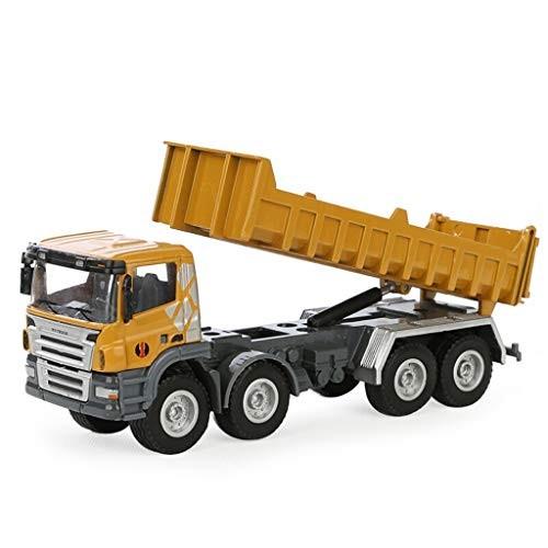 SCCCvip 1:50 Truck Model Car Alloy Dump Truck Model Toy Ornaments (Color : Yellow