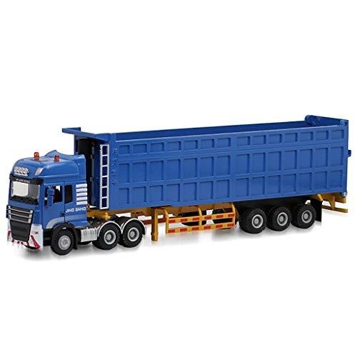 SCCCvip 1:50 Dump Truck Model Alloy Alloy Melting Under Pressure Zinc Dump Truck Model