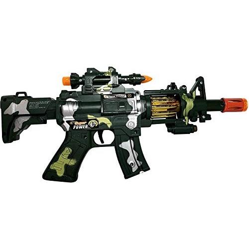 MTT Toy Machine Gun Toy  with Dazzling Light Remarkable Sound & Amazing Machine