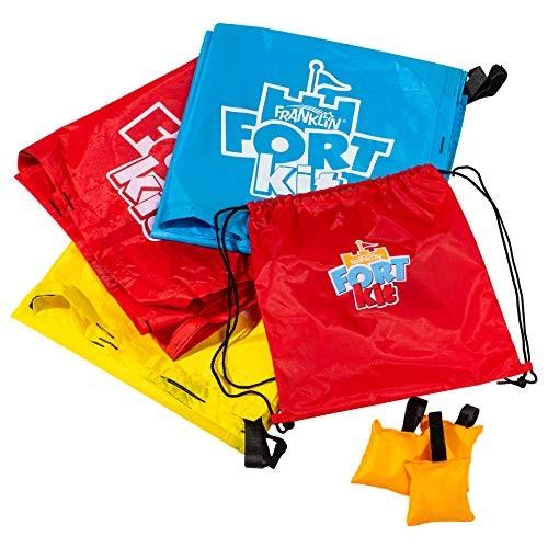 Franklin Fort Kit – Configurable Play Tent – Blanket Fort Kit for Kids –