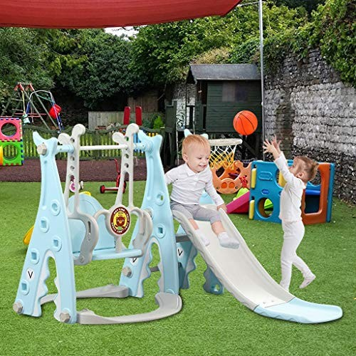 UTPO Slide and Swing Set for Toddlers 4 in 1 Kids Slide Sturdy Toddler