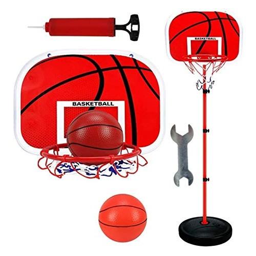 XNYY-PET Portable Kids Basketball Hoop Stand Set Adjustable Height Portable Basketball Stand Sport Game