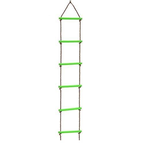 Denpetec Climbing Rope Ladder for Kids Climbing Ladder Hanging Rope Ladder for Indoor Play