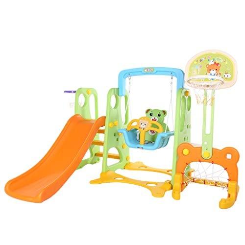 Kids Slide Indoor [ US Stock ] 6 in 1 Kids Slide Sturdy Slide