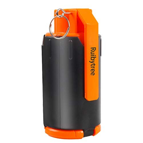 Ruibytree Tactical Plastic Toy Bomb for CS Nerf Rival Battle Game Strike Games