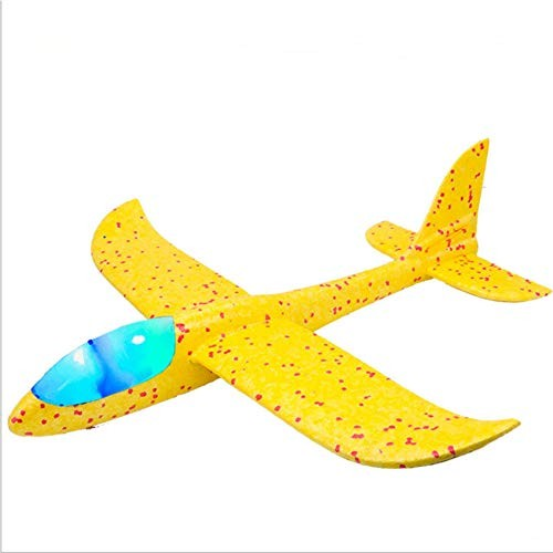 ADWA Airplane Toy Throwing Foam Airplane 2 Pieces of Glider Airplane Flying Toy Suitable