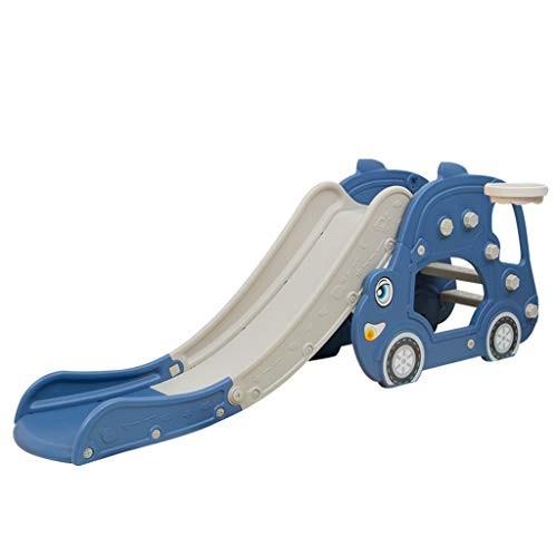 Johtae Freestanding Kid Slide Baby Play Climber Slide Set with Extra Long Slipping Slope