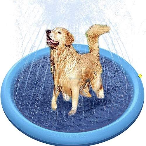 Non-Slip Splash Pad Sprinkler for Kids Pets Baby Infant Swimming Pool Fountain Water Games