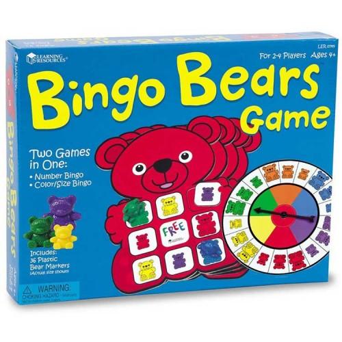 Bingo Bears Early Math Game