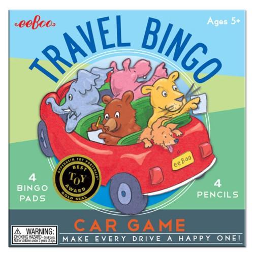 Kids Travel Bingo Game
