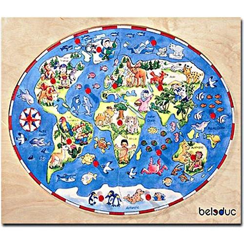 Children Around the World Wooden Puzzle