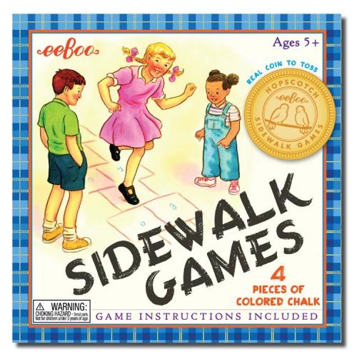 Outdoor Fun Sidewalk Games Set