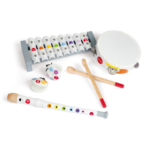 Kids Confetti 4 Musical Instruments Set - Educational Toys -5747