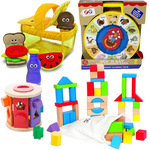 Developmental Toys For Toddlers : Cognitive toys developmental kit for toddlers months