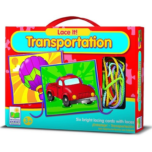 Transportation Lace It – Vehicles Lacing Toy