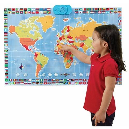 MapWorld Interactive Talking Map