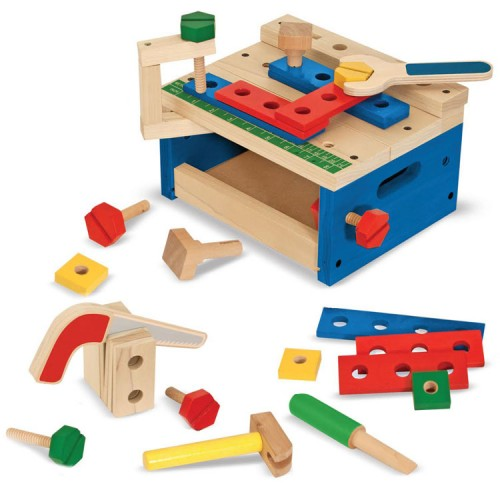 Kids Tools and Mini Workbench Building Set