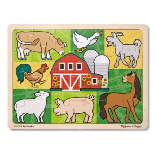 Patchwork Farm Jigsaw Puzzle