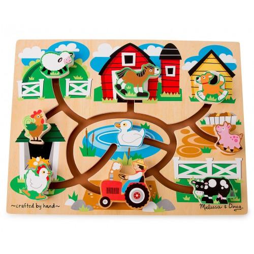 First Farm Maze