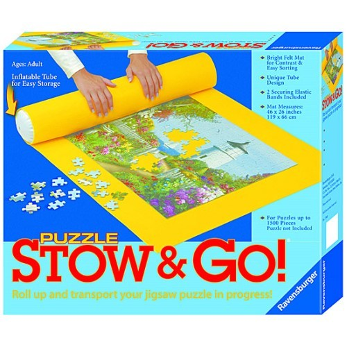 Puzzle Stow & Go Felt Puzzle Rolling Holder