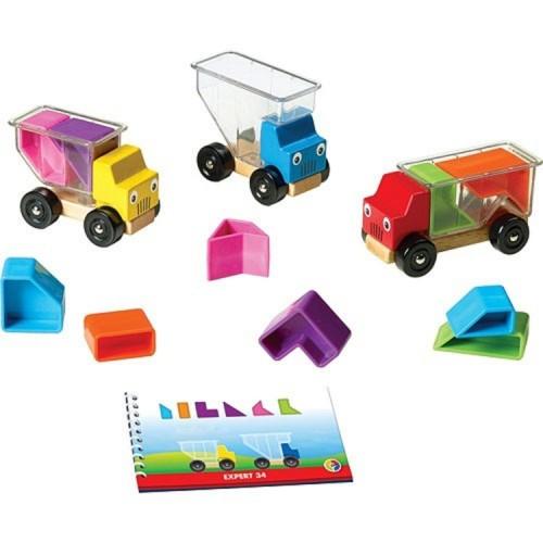 Trucky 3 Shape Loading 3D Logic Game