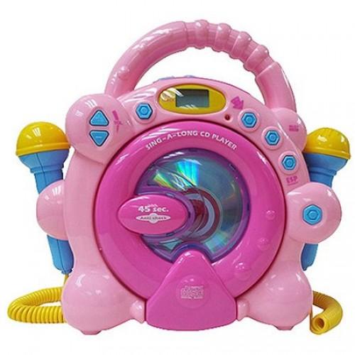 Sing Along CD Player – Pink