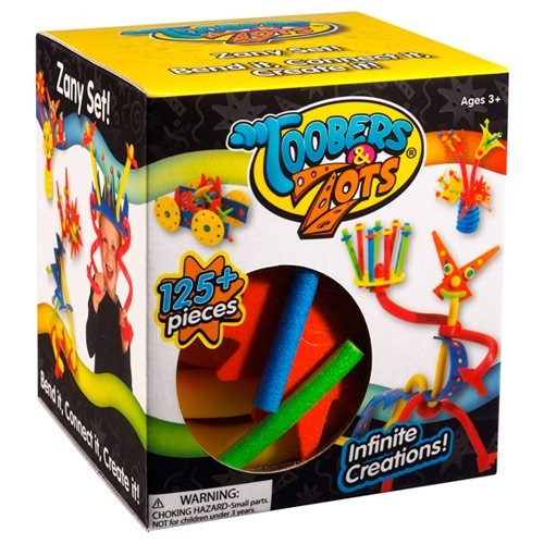 Toobers & Zots Zany Kit  – 125 pc Foam Building Set