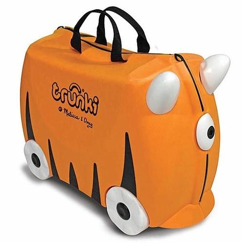 Trunki Orange Sunny Kids Ride-On Suitcase