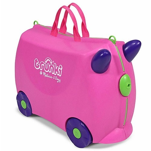 Trunki Pink Trixie Kids Ride-On Suitcase