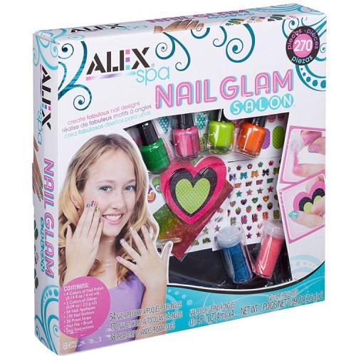 Nail Glam Salon Girls Craft Kit