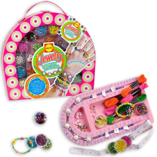 Jewelry Design Studio Girls Deluxe Fashion Craft Kit Educational Toys Planet