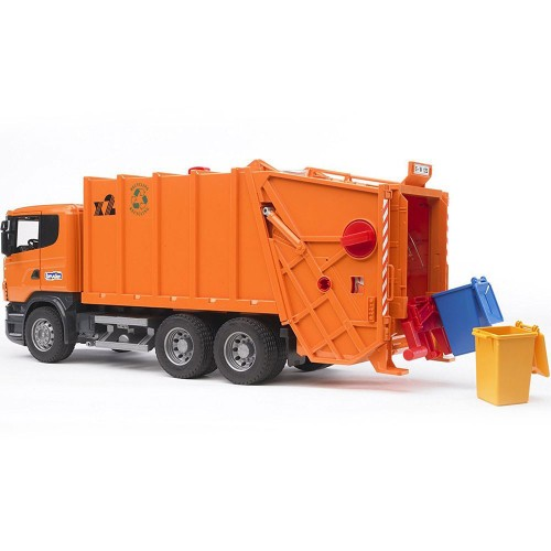 bruder trucks toys r us with Bruder Scania R Series Orange Toy Garbage Truck on Bru 2812 together with Watch likewise Watch furthermore John Deere Gator Xuv Ride On Tractor in addition Bruder Scania R Series Orange Toy Garbage Truck.