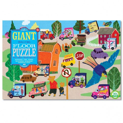Around the Town 48 pc Giant Floor Puzzle