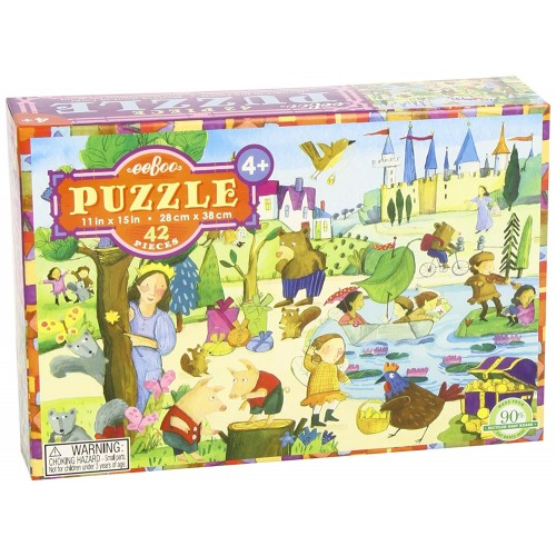 Mystery In The Forest 42 Pc Fairytale Puzzle Educational