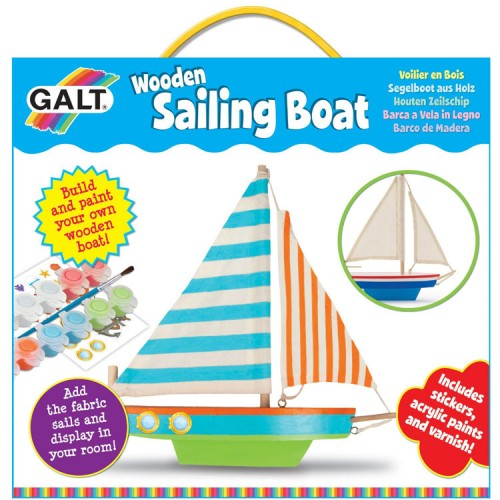 Build a Wooden Sailing Boat Craft Kit