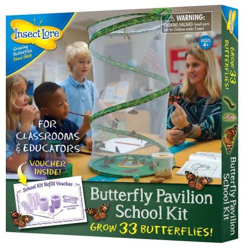 Butterfly Pavilion Grow 33 Butterflies School Kit