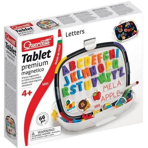 Quercetti Premium Magnetic Language Tablet