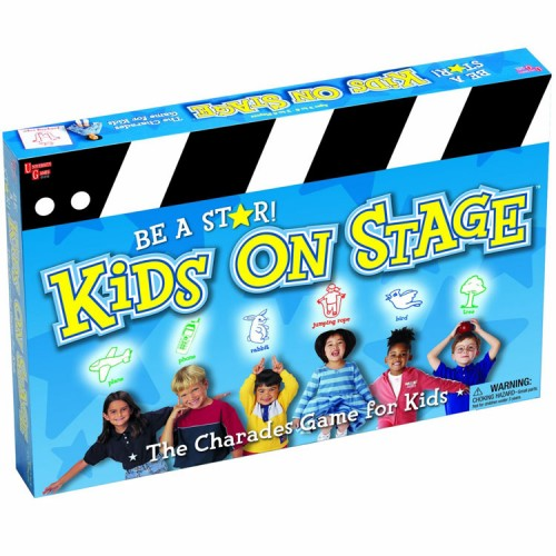 Kids On Stage Charades Board Game - Educational Toys Planet-7170
