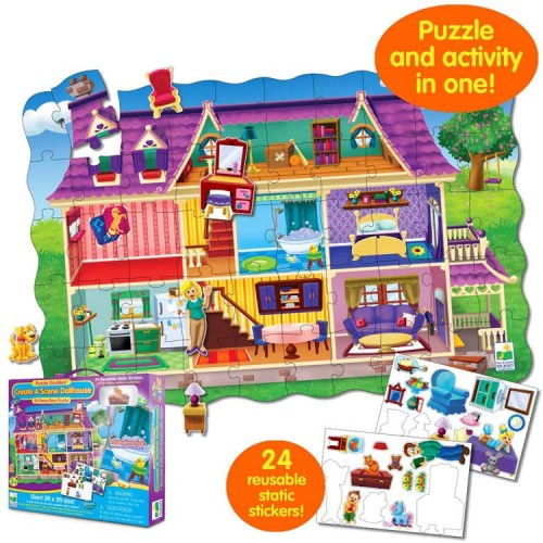 Create a Scene Dollhouse Puzzle